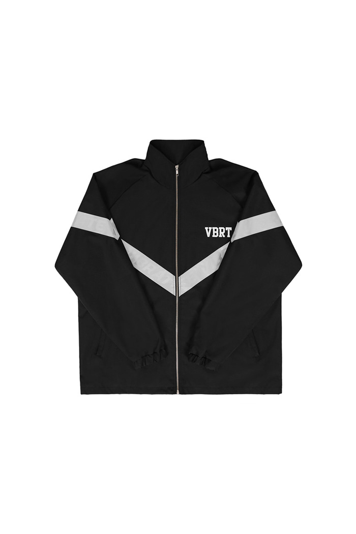 REFLEX TAPE WINDBREAKER (BLACK)