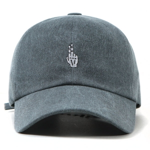 VIBRATE - FINGER BALL CAP (WASHING NAVY)