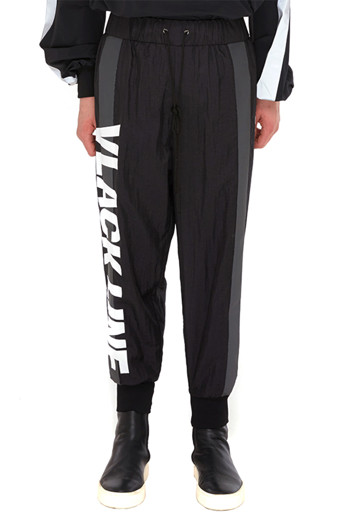 SCOTCH LINE JOGGER PANTS (BLACK)