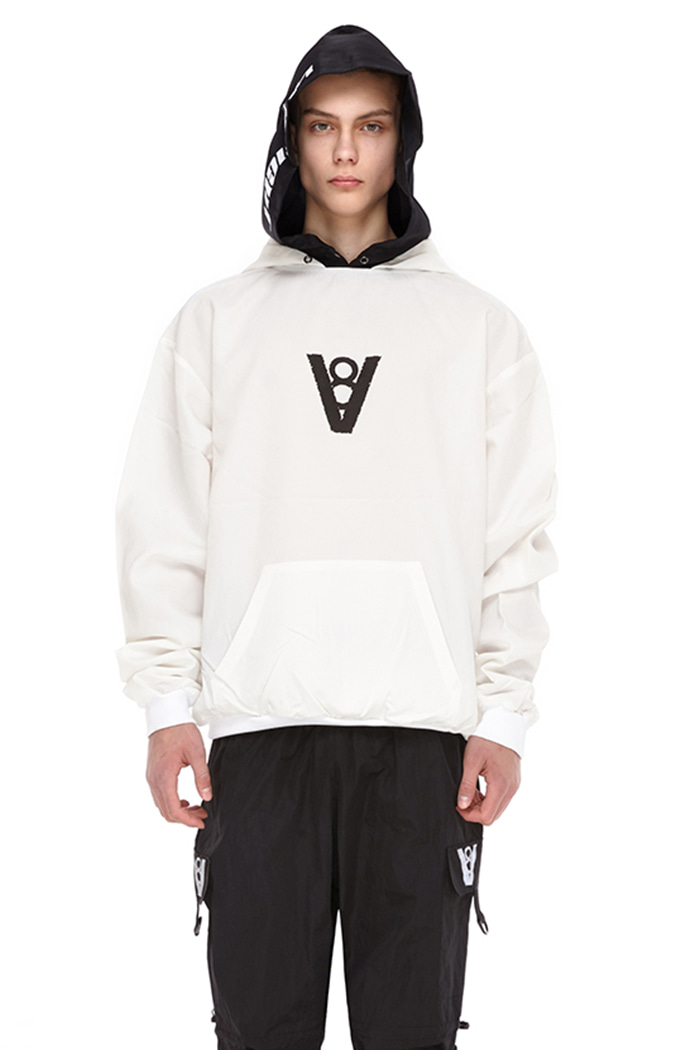 DOUBLE HOOD POINT TOP (WHITE)