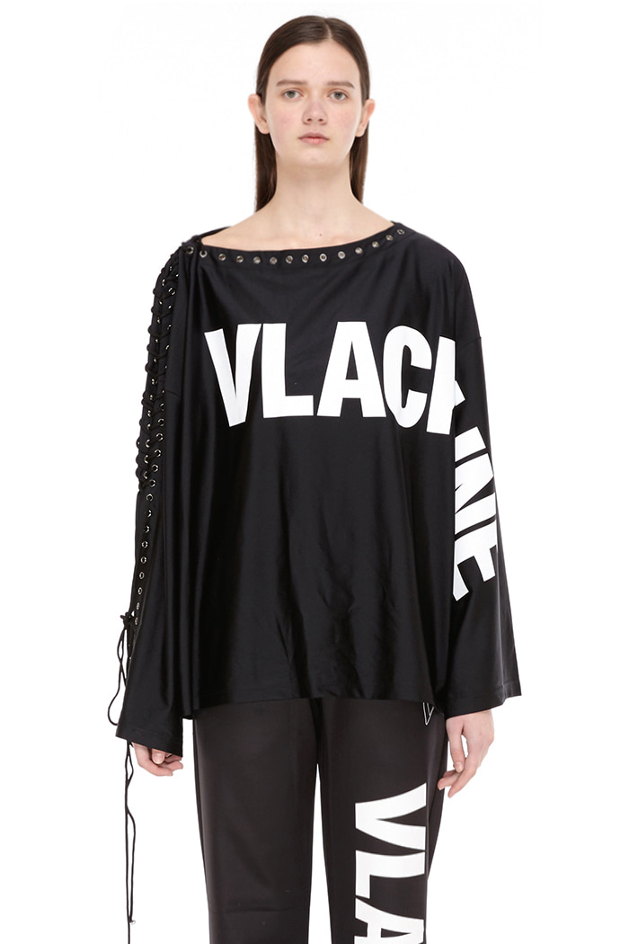 LOOSE FIT TOP (BLACK)