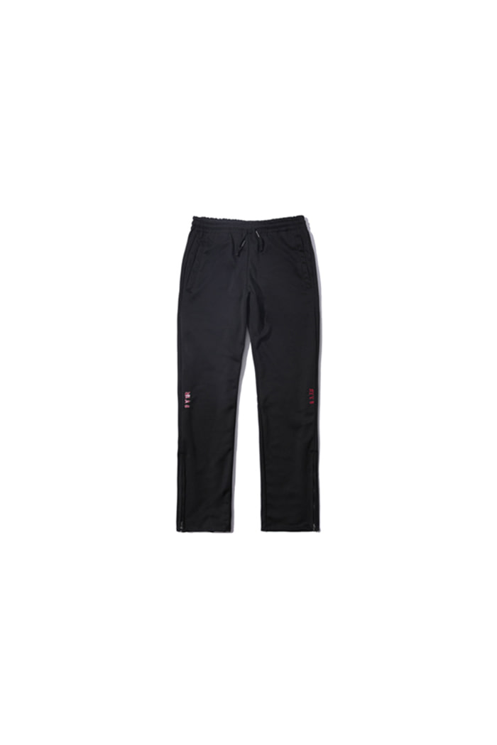 SIDE LOGO JERSEY PANTS (BLACK)