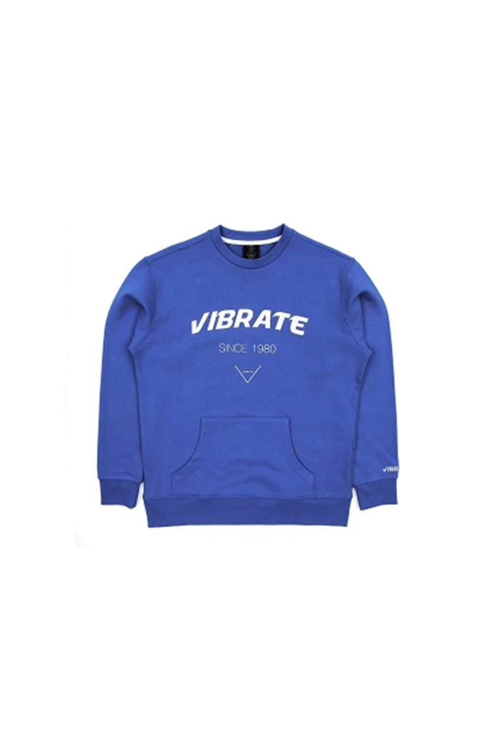 SIGNATURE POCKET SWEAT SHIRT (BLUE)