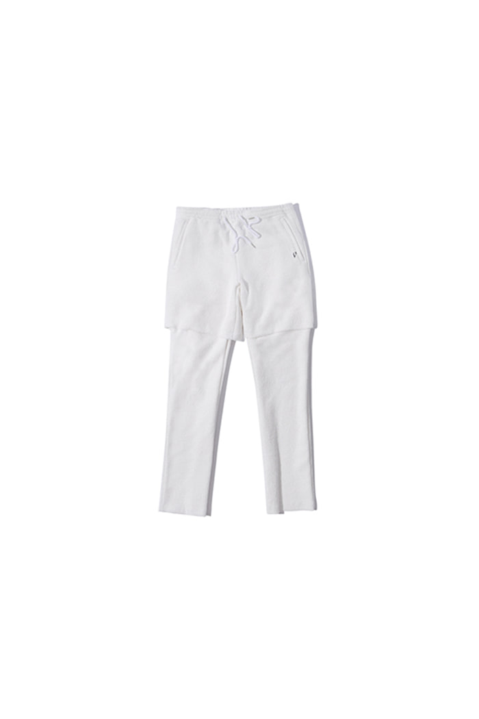 LAYERED REVERSE PANTS (WHITE)
