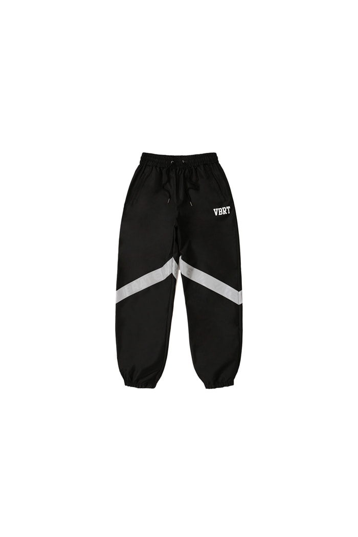 REFLEX TAPE JOGGER PANTS (BLACK)