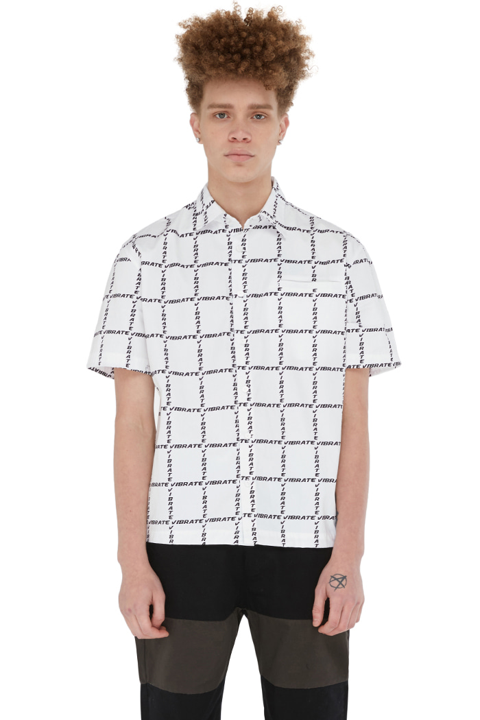 GOLDLINE WINDOW CHECK SHIRT (WHITE)
