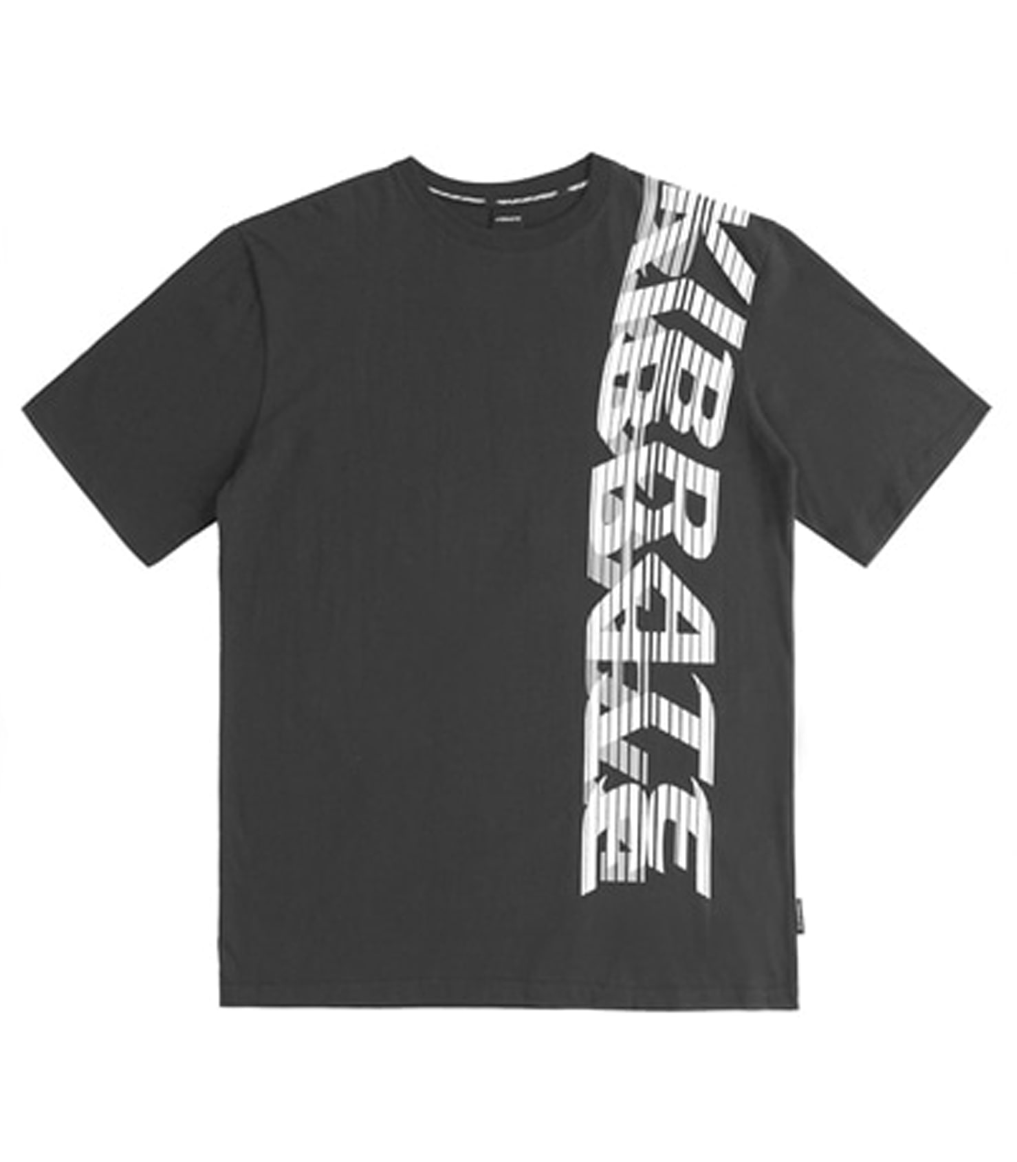 SIDE BIG LOGO T-SHIRT (BLACK)