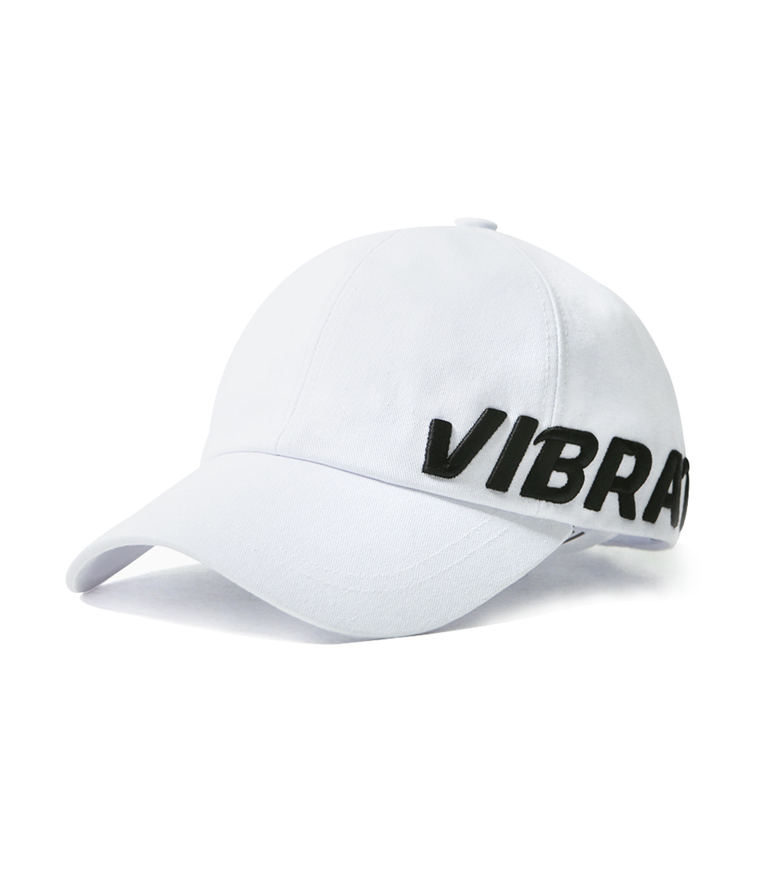 VIBRATE - SIDE SIGNATURE CAP (black&white)
