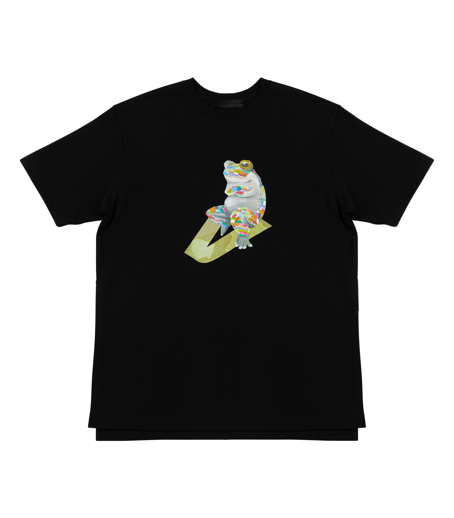 GLORY FROG LOGO T-SHIRT (BLACK)