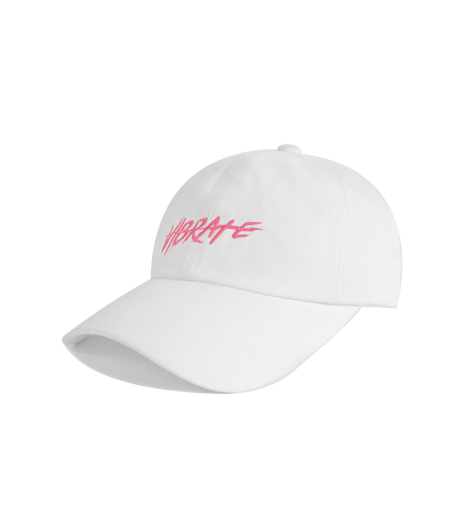 VIBRATE - BRUSH LETTERING BALL CAP (white)