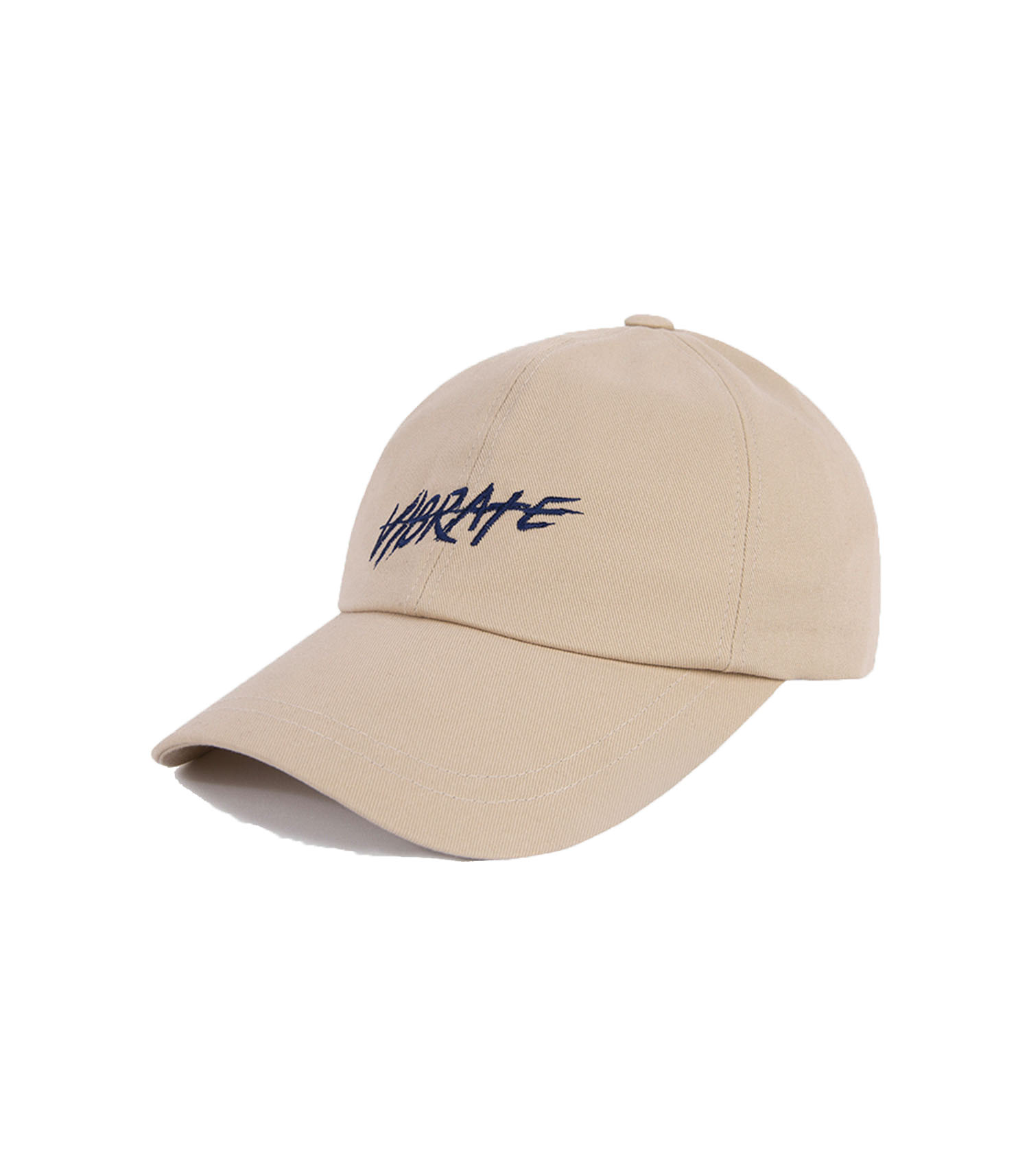 VIBRATE - BRUSH LETTERING BALL CAP (beige)