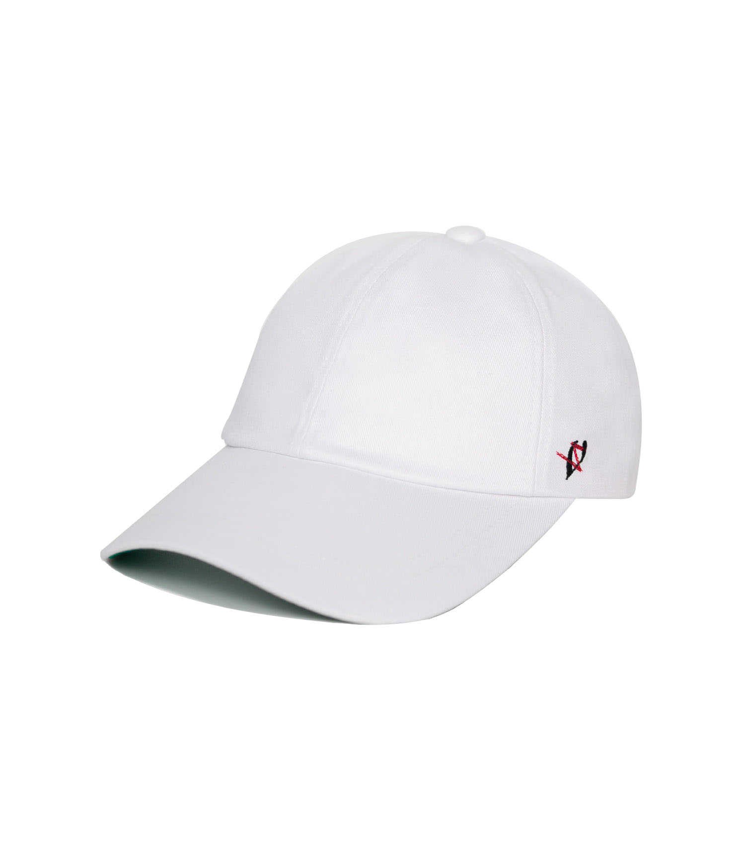 BLACK LINE - SSO FANXY BALL CAP (WHITE)